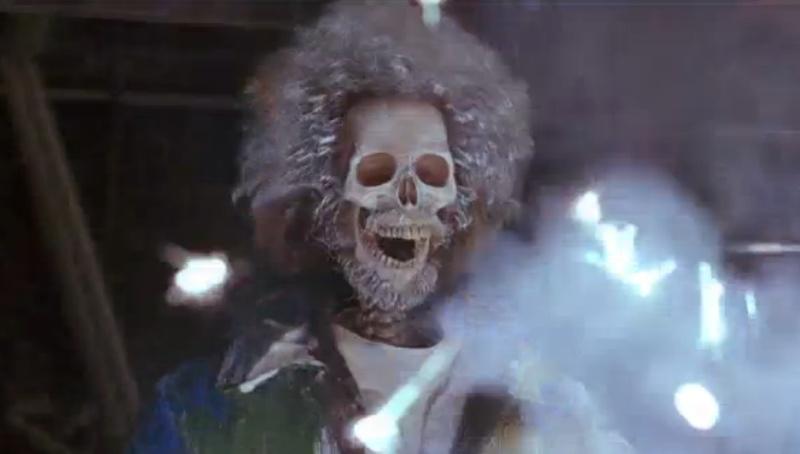 Home Alone 2 - Daniel Stern as Marv's skeleton